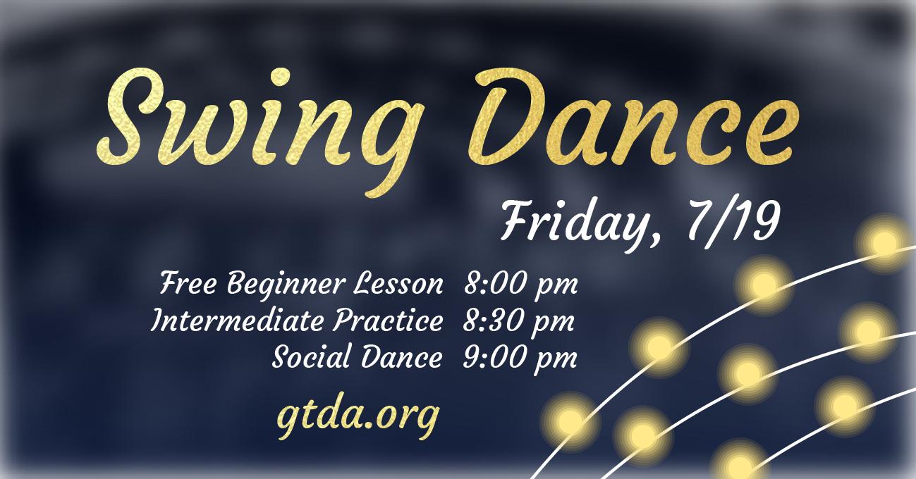 GTDA July Social Dance