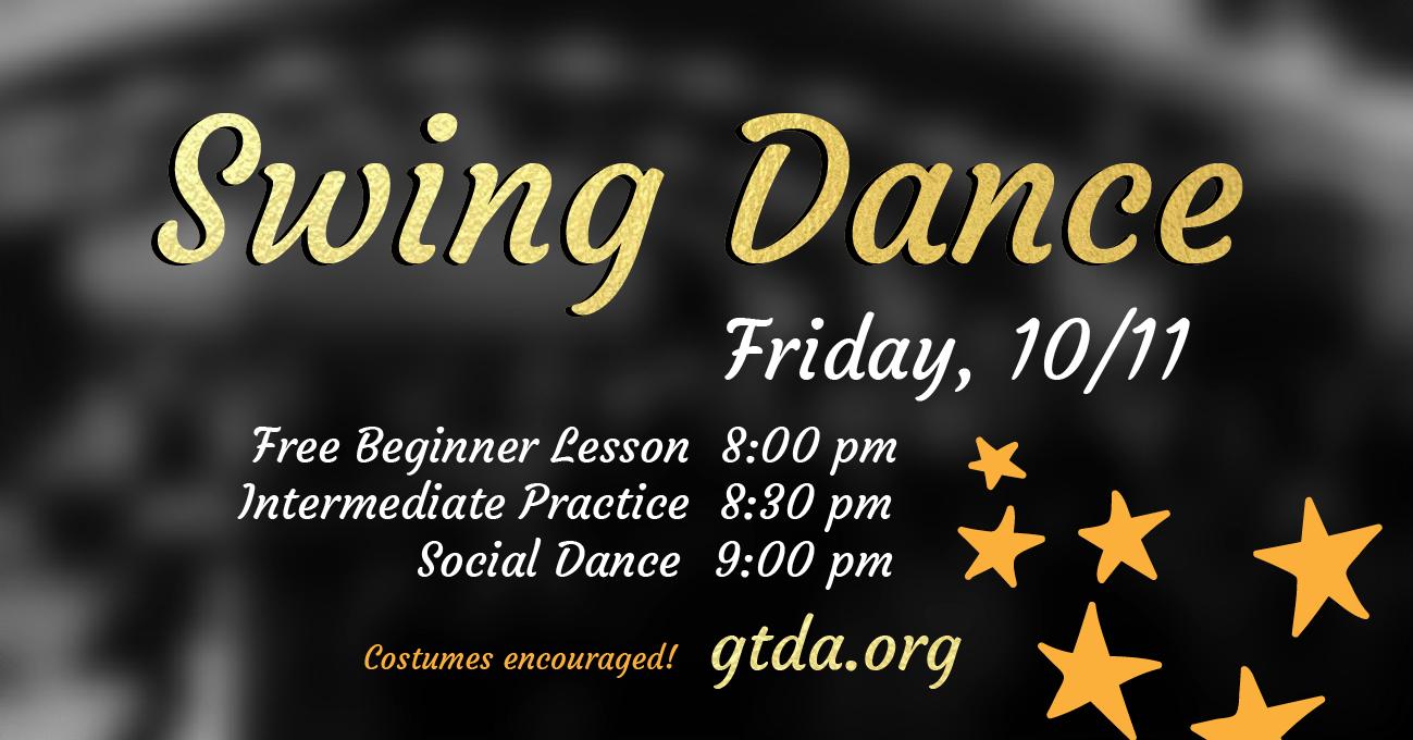 GTDA October Swing Dance Social
