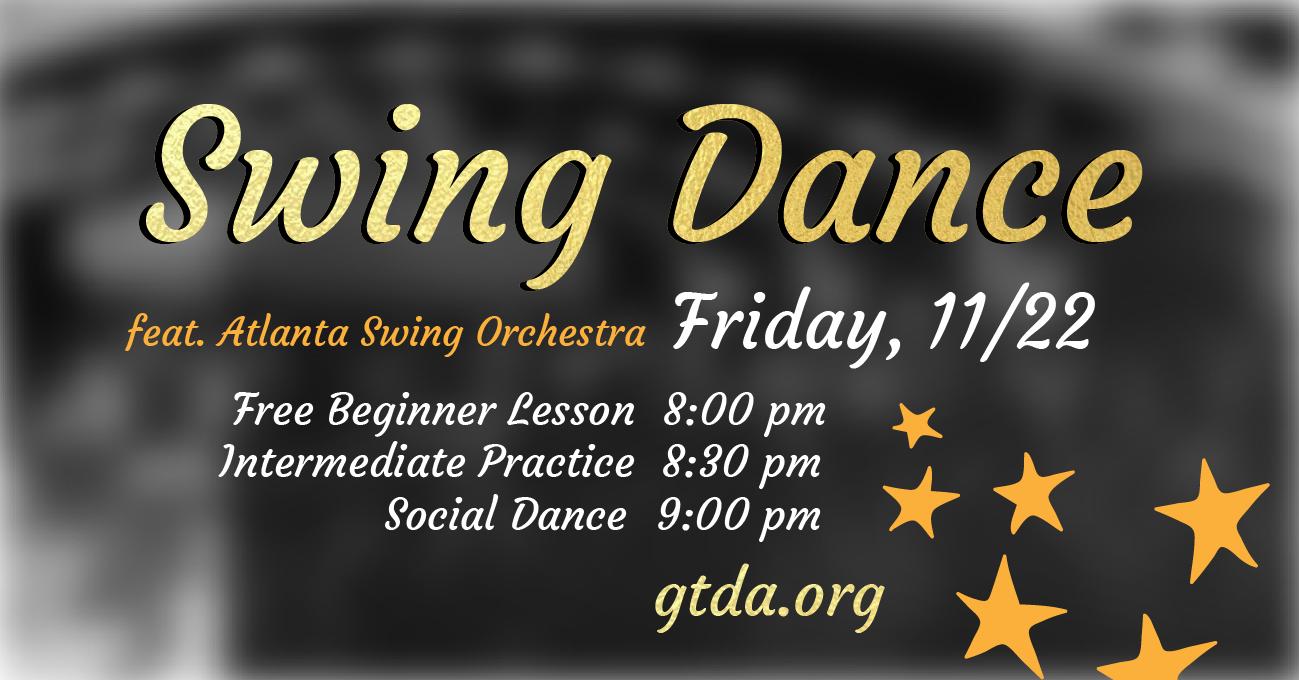 GTDA November Swing Dance Social